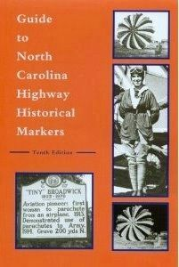 Guide to North Carolina<br>Highway Historical Markers image, Click for more information
