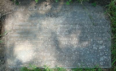 Old Governor's Mansion Marker Photo, Click for full size