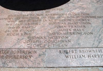 American Revolutionary War Memorial Marker Photo, Click for full size