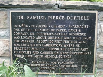 Dr. Samuel Pierce Duffield image. Click for full size.