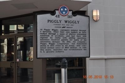 Piggly Wiggly Marker side 2 image. Click for full size.