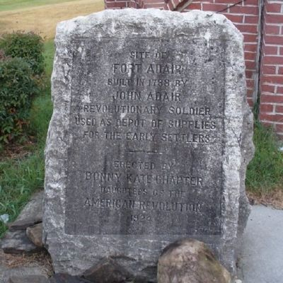 Site of Fort Adair Marker image. Click for full size.