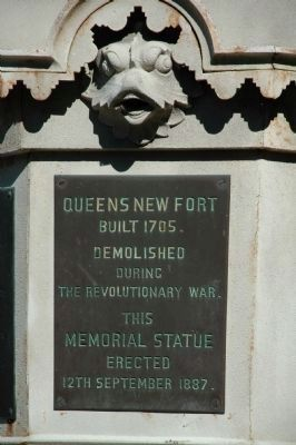 Another Queen's Fort Marker image. Click for full size.
