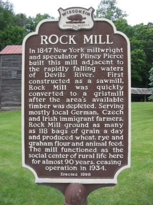 Rock Mill Marker image. Click for full size.