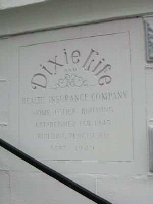 Dixie Life and Health Insurance Company Marker image. Click for full size.