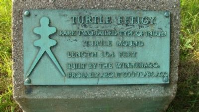 Turtle Effigy Marker image. Click for full size.