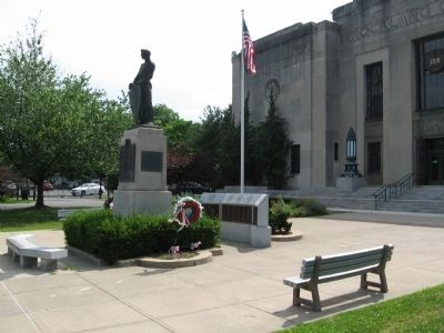 Rockland County Veterans Monument image. Click for full size.