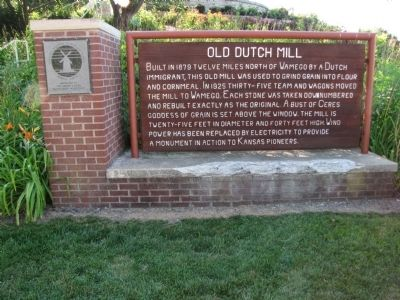 Old Dutch Mill Marker image. Click for full size.