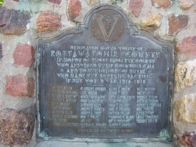 Pottawatomie County Marker image. Click for full size.