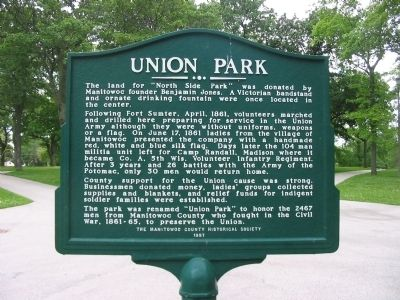 Union Park Marker image. Click for full size.
