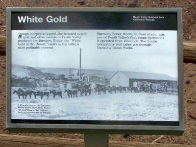 "Old Harmony Borax Works "" White Gold "" image. Click for full size."