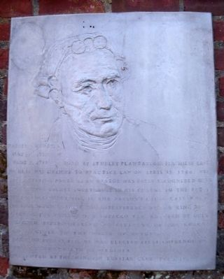 Patrick Henry Marker image. Click for full size.