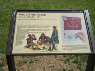 Sons of Saint Patrick Marker image. Click for full size.