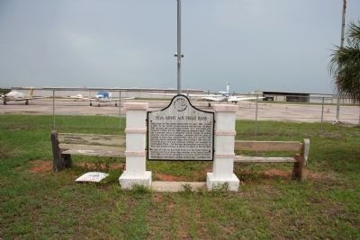337th Army Air Field Base Marker Photo, Click for full size