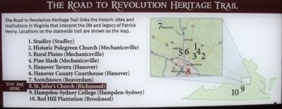 The Road to Revolution Heritage Trail Photo, Click for full size