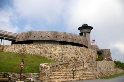 Brasstown Bald Observation Tower / Visitors' Center Photo, Click for full size