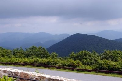 The Appalachian Mountains from Brasstown Bald Photo, Click for full size
