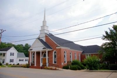 Franklin Baptist Church image. Click for full size.