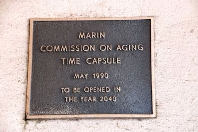 Marin Commission on Aging Time Capsule image. Click for full size.
