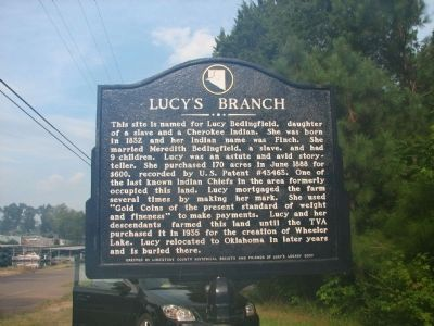 Lucy's Branch Marker image. Click for full size.