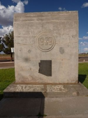The Winslow Bridge Marker image. Click for full size.