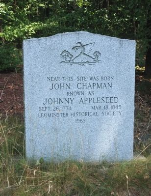 Birthplace of Johnny Appleseed Marker image. Click for full size.