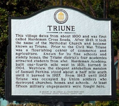 Triune Marker image. Click for full size.