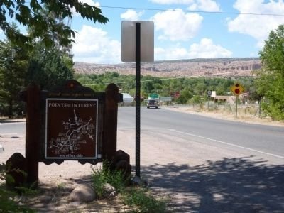 Chimayo Marker - Reverse image. Click for full size.