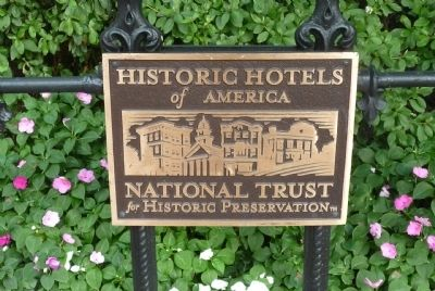 Historic Hotels of America - National Trust for Historic Preservation image. Click for full size.
