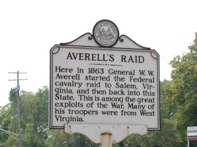 Averell's Raid Face of Marker image. Click for full size.