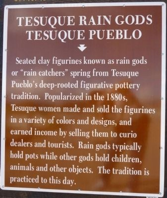 Tesuque Rain Gods Marker image. Click for full size.
