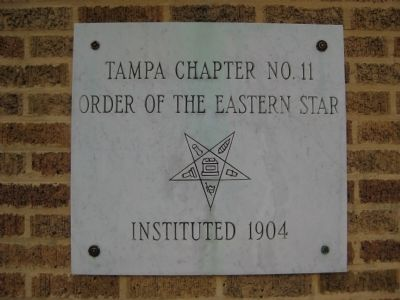 Order of the Eastern Star Plaque image. Click for full size.