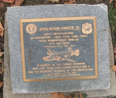 459th Bomb Group (H) Marker image. Click for full size.