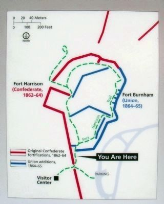 Fort Harrison Trail image. Click for full size.