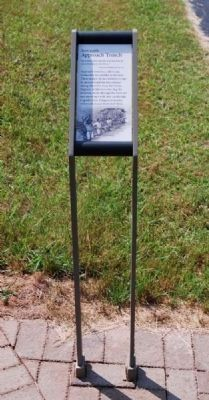 Approach Trench Marker Photo, Click for full size