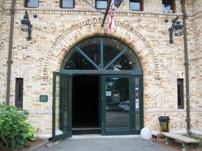 Larz Anderson Auto Museum Entrance image. Click for full size.