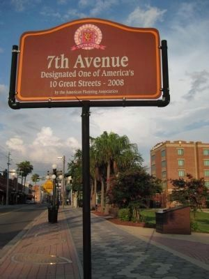 7th Avenue Sign and the Rough Riders Memorial image. Click for full size.