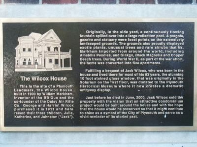 The Wilcox House Marker image. Click for full size.