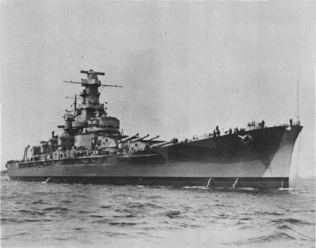 The USS Massachusetts