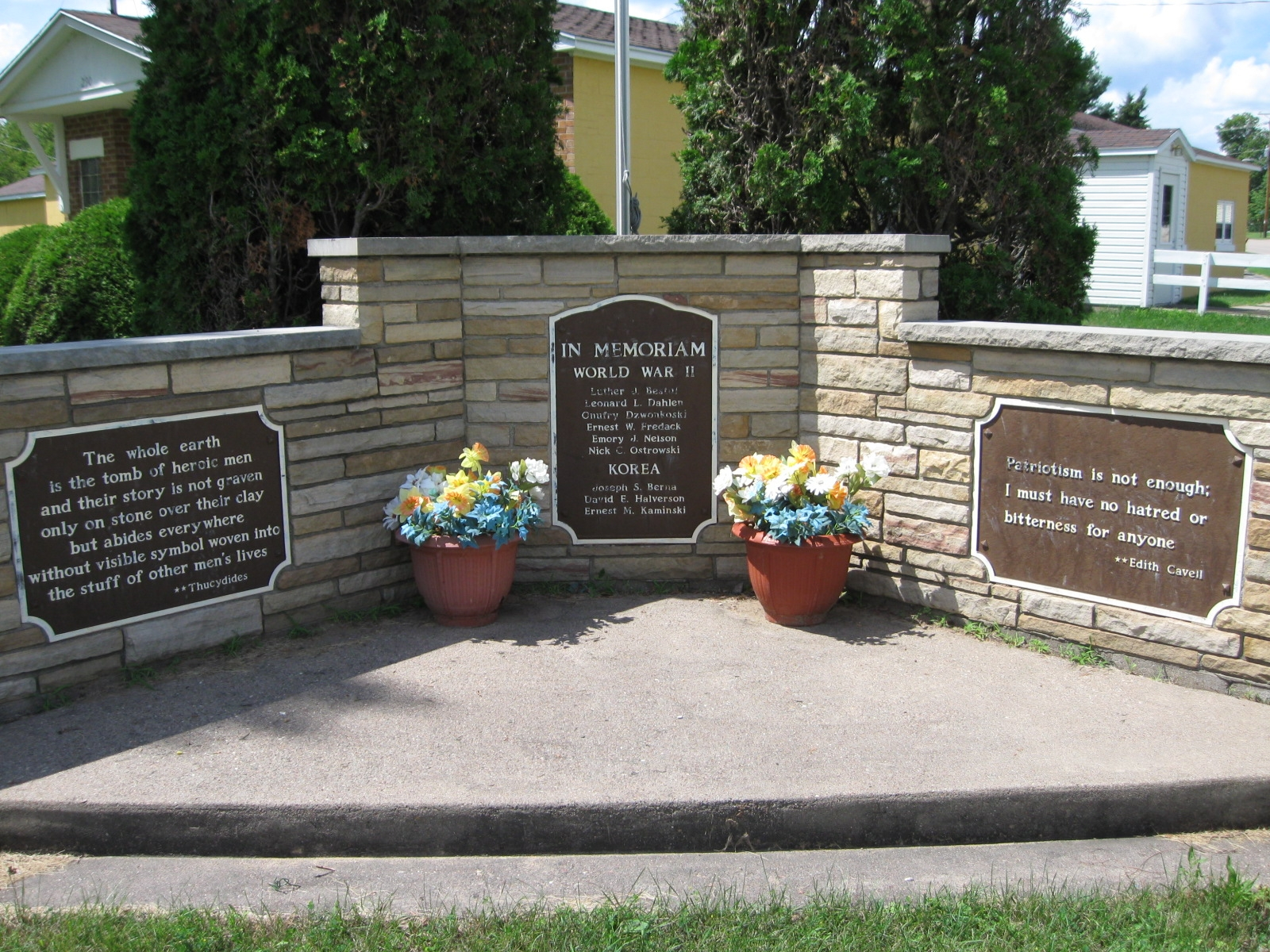 Rosholt War Memorial