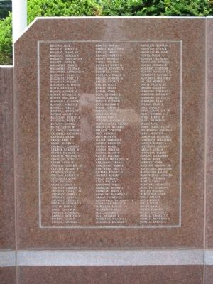 Avon Veterans Monument Photo, Click for full size