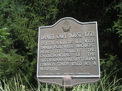 Daniel Cary House - 1771 Marker image. Click for full size.