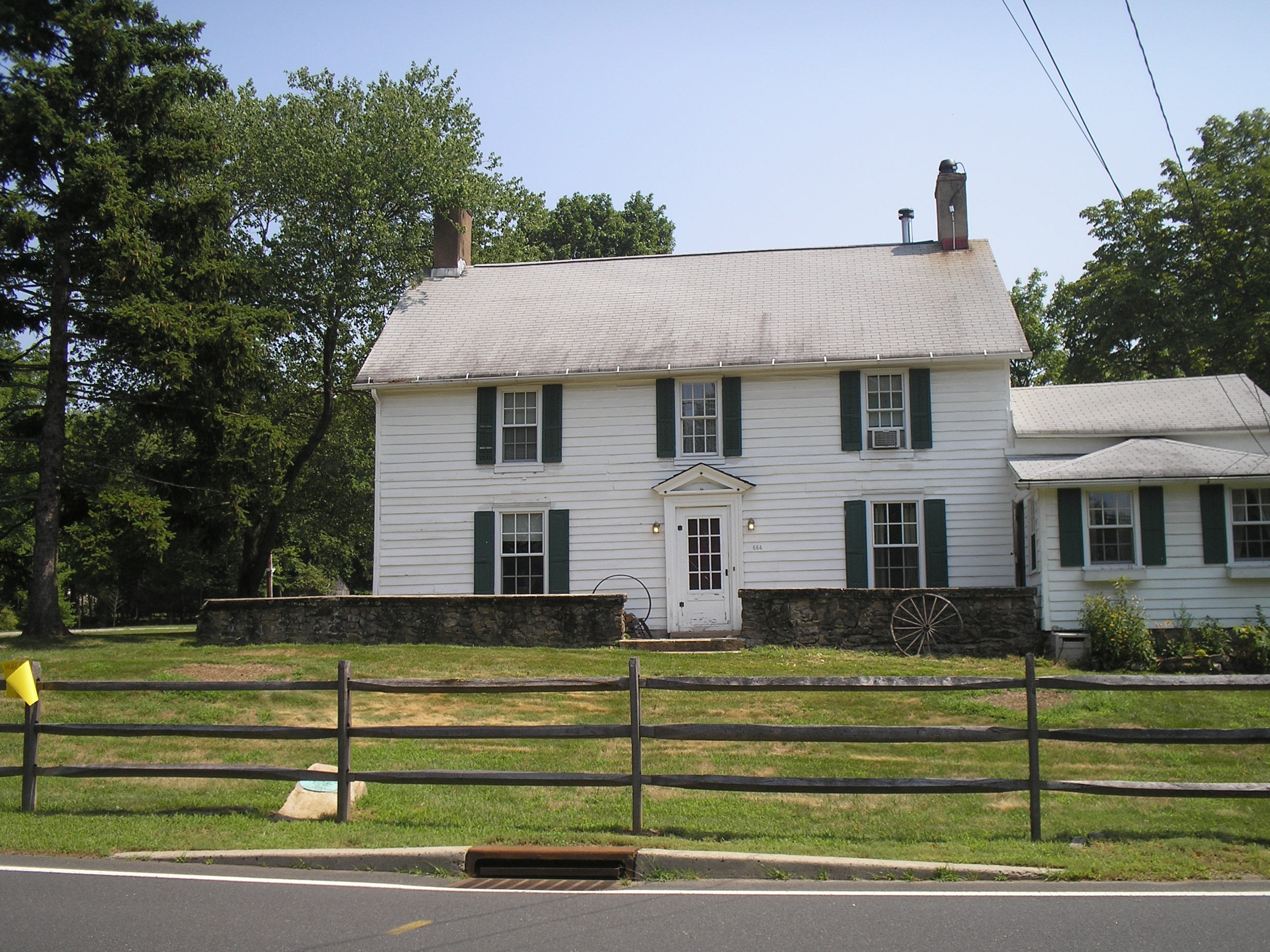 Jacob Vosseller House and General Store circa 1753
