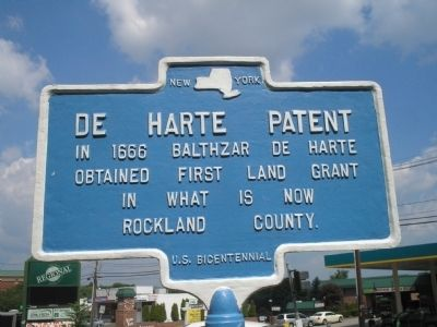 De Harte Patent Marker Photo, Click for full size