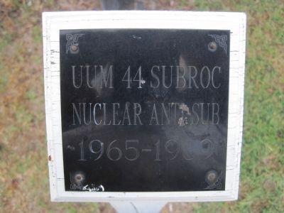 UUM 44 Subroc, Nuclear Anti-Sub, 1965 - 1989 image. Click for full size.