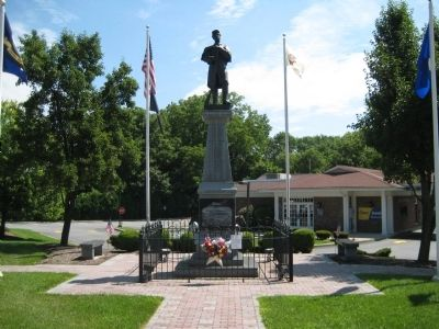 Hackettstown Civil War Monument image. Click for full size.