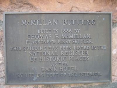 McMillan Building Photo, Click for full size