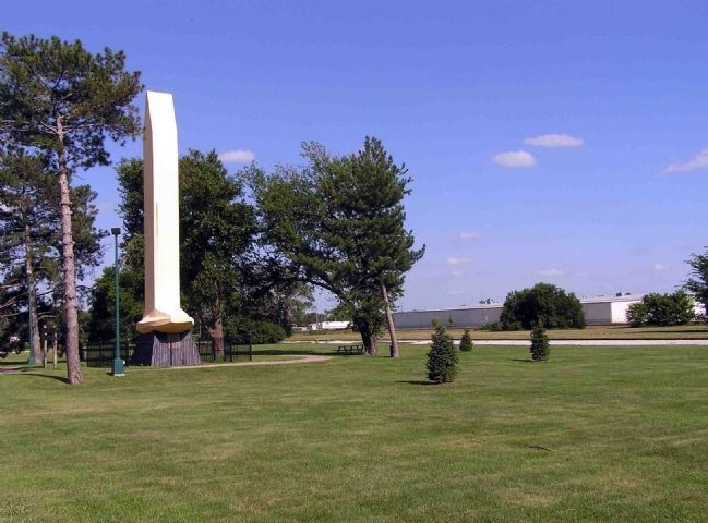 Golden Spike Monument image. Click for full size.
