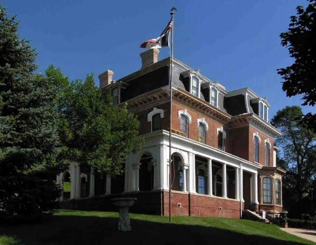 General Dodge House (1869) image. Click for full size.