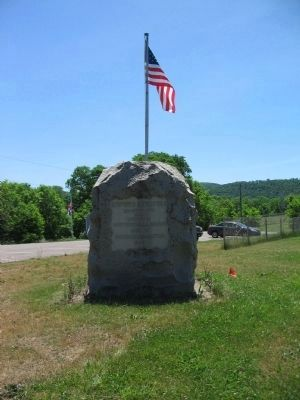 Newtown Battlefield Marker image. Click for full size.